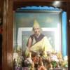 赤江仁波切的佛像、舍利塔和在赤江拉章的油画