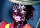 多杰雄登的佛像在尼泊尔的高班寺