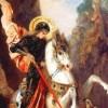 多杰雄登与圣乔治──武装打扮的兄弟
