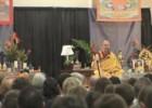 一个周末的佛法庆祝活动