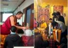 向巴恩珠仁波切(旺秋上师)2013年3月之成都传法之行—— 授予多杰雄登护法及无量寿佛灌顶