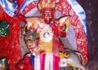 多摩格西仁波切绘画的南喀巴津和多杰雄登图像