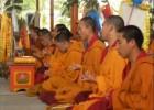 格西图登在萨甘丹寺讲授《菩提道次第》
