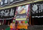 祈竹仁波切于2013年10月16日,在中国四川在大藏寺入定