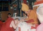 印度萨甘丹寺的堪殊仁波切
